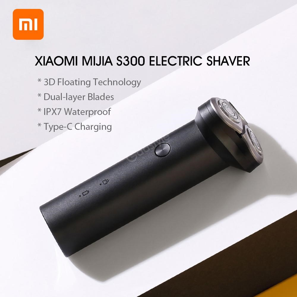 Xiaomi Mijia Electric Shaver S300 With Type C Charging Dual Layer Blade (2)