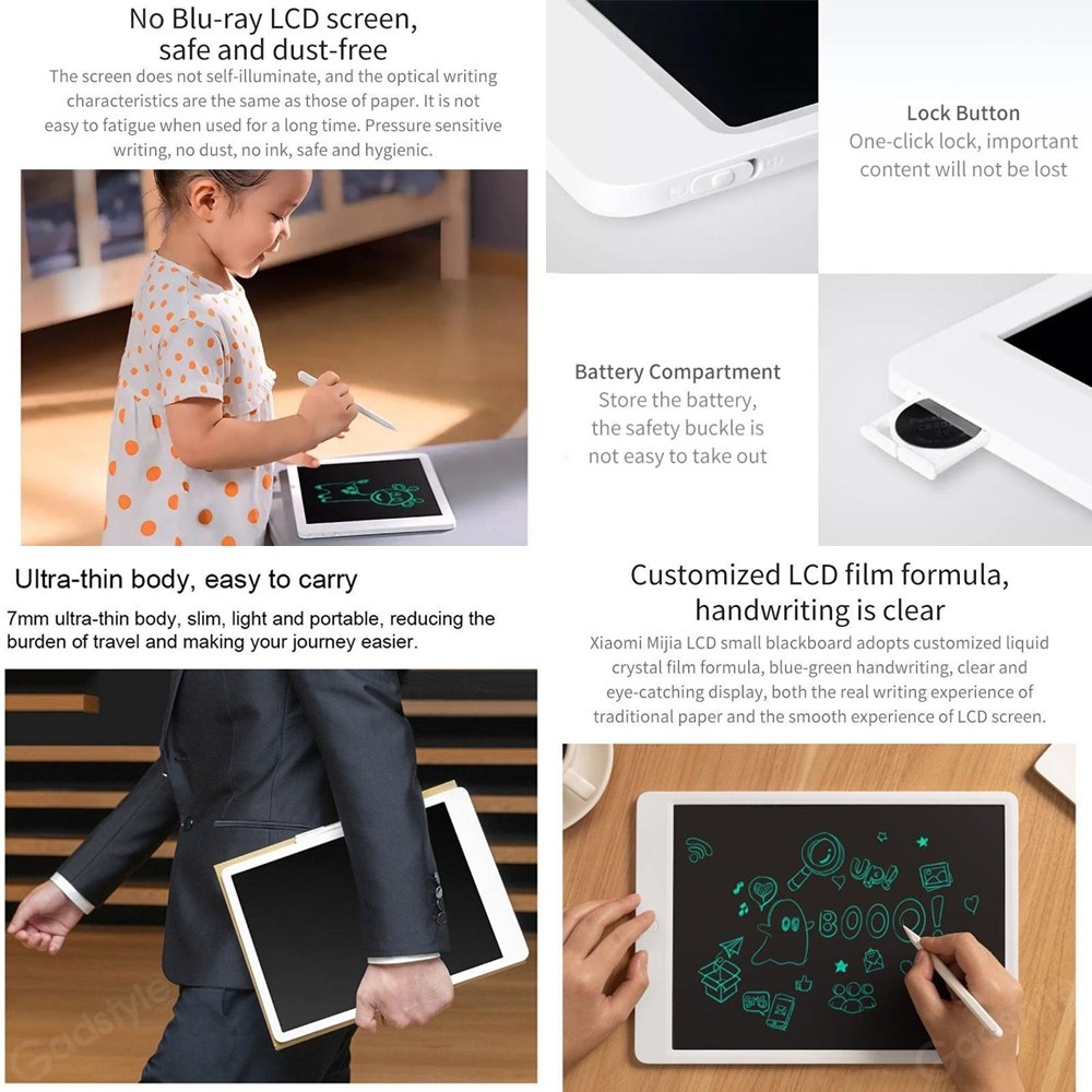 Xiaomi Mijia Lcd Writing Tablet Board With Pen For Kids (1)
