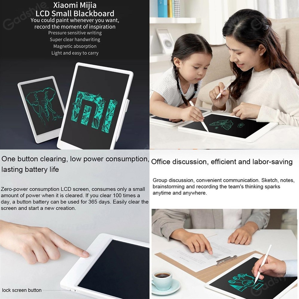 Xiaomi Mijia Lcd Writing Tablet Board With Pen For Kids (2)