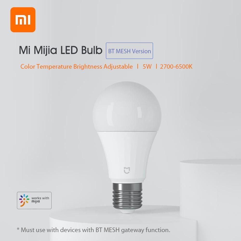 Xiaomi Mijia Led Bulb Bt Mesh Light Blub 5w 2700 6500k Adjustable (1)