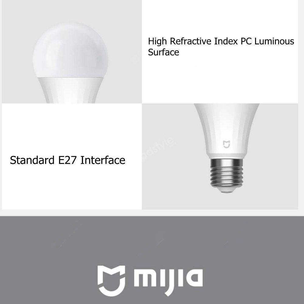 Xiaomi Mijia Led Bulb Bt Mesh Light Blub 5w 2700 6500k Adjustable (2)