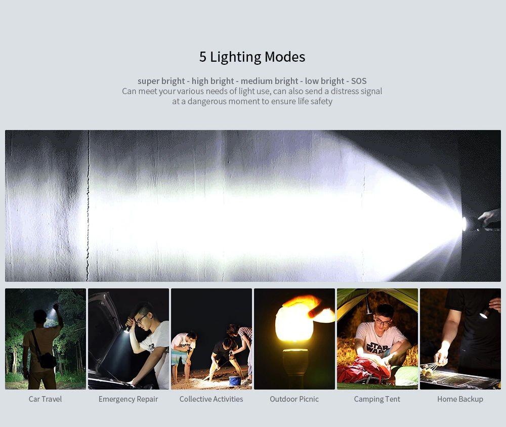 Xiaomi Nextool Mi Youpin Torchlight Flashlight Ipx7 (3)