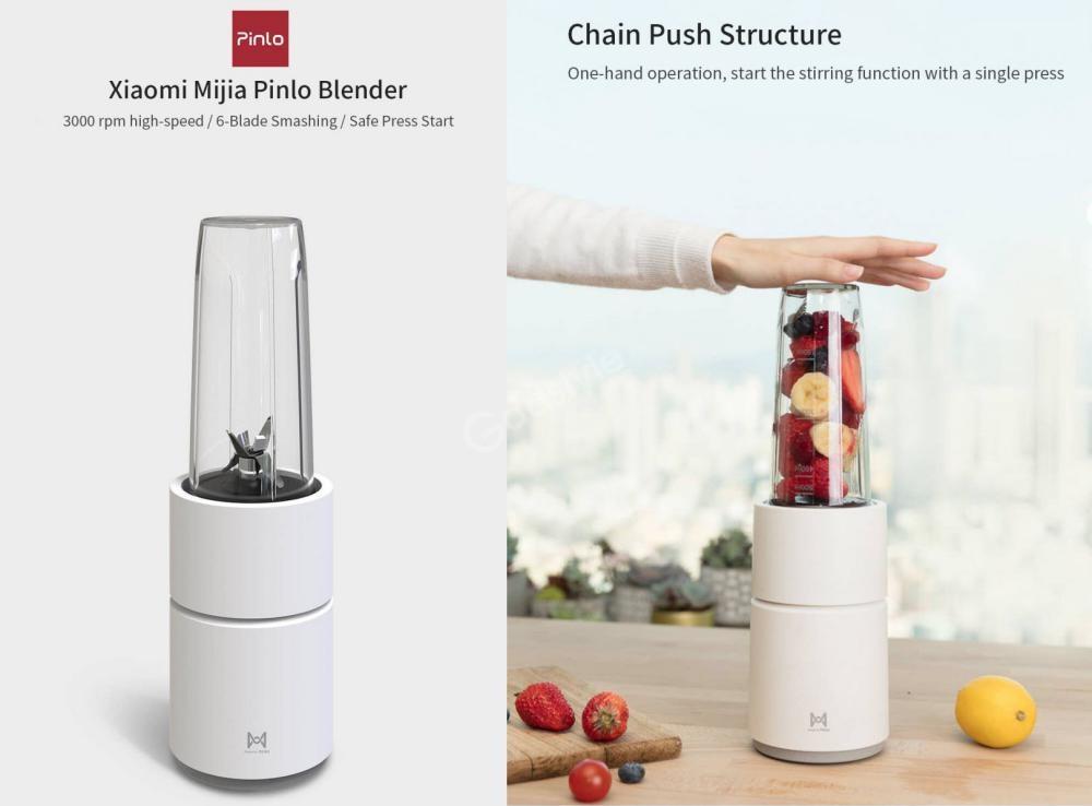 Xiaomi Pinlo Ym B05 Blender Mixer Portable Mini Fruit Juice (3)