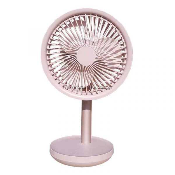 Xiaomi Solove F5 Usb Desktop Fan 4000mah Battery Pink