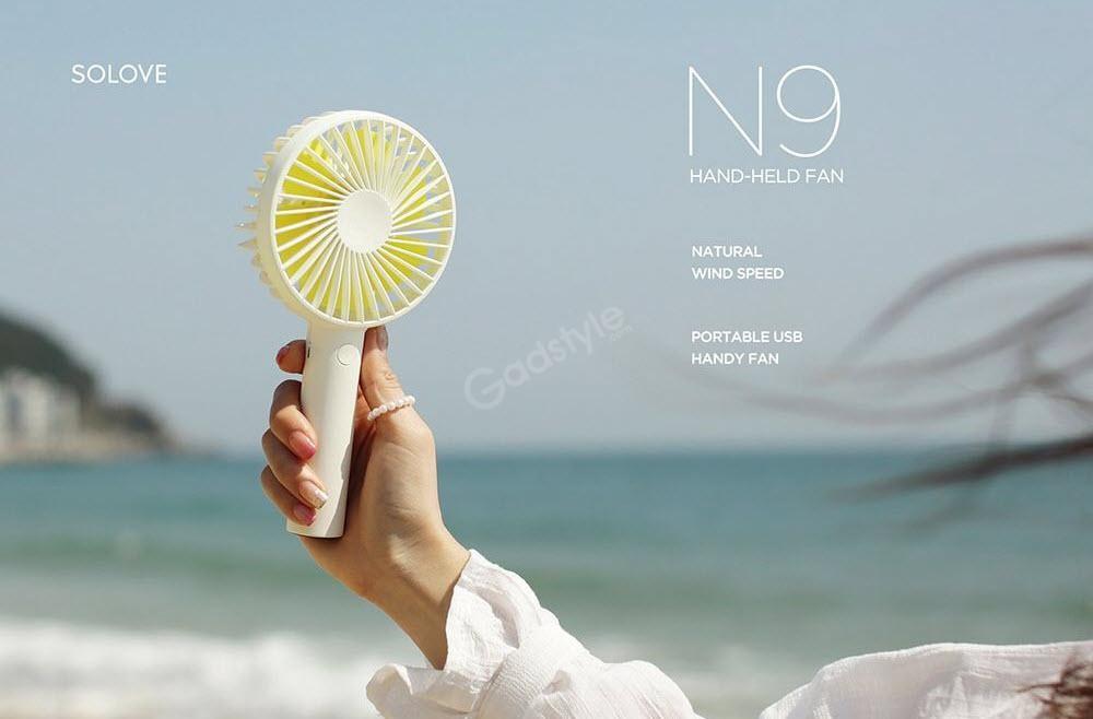 Xiaomi Solove N9 Mini Portable Fan 2000mah Usb Charging (4)