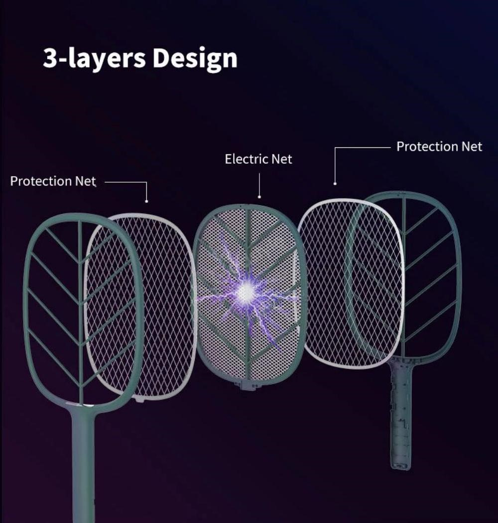 Xiaomi Solove P2 Mosquito Electric Mosquito Swatter Bat (6)