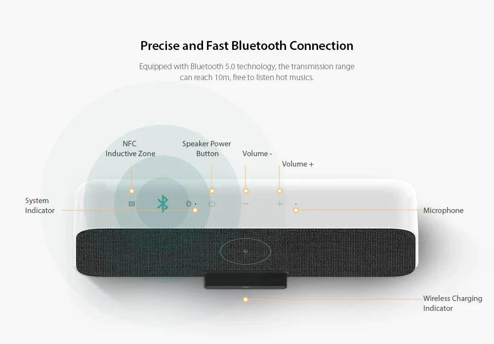 Xiaomi Wireless Charging Bluetooth Speaker 30w (5)