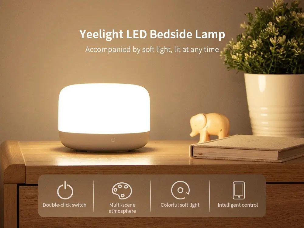 Xiaomi Yeelight Led Bedside Lamp D2 (2)