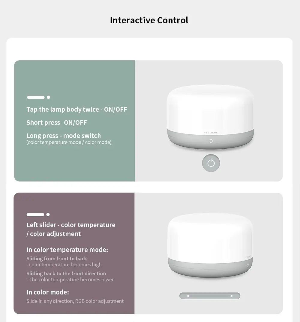 Xiaomi Yeelight Led Bedside Lamp D2 (5)