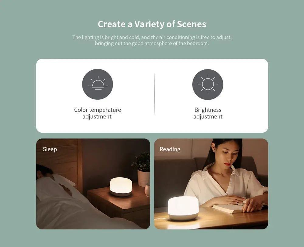 Xiaomi Yeelight Led Bedside Lamp D2 (6)