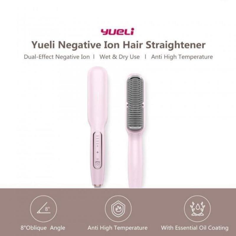 Xiaomi Youpin Yueli Hair Straightener Salon Negative Ion Hair Styling (2)