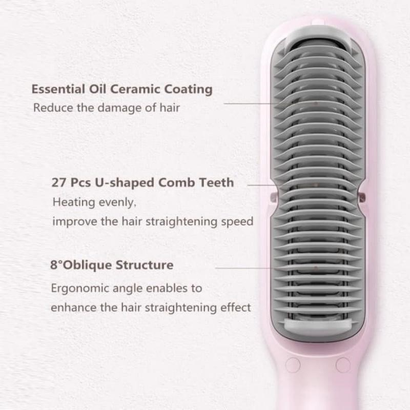 Xiaomi Youpin Yueli Hair Straightener Salon Negative Ion Hair Styling (3)