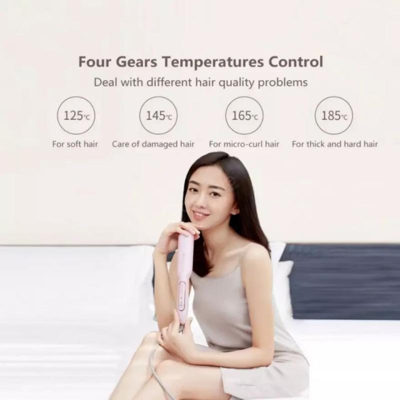 Xiaomi Youpin Yueli Hair Straightener Salon Negative Ion Hair Styling (6)