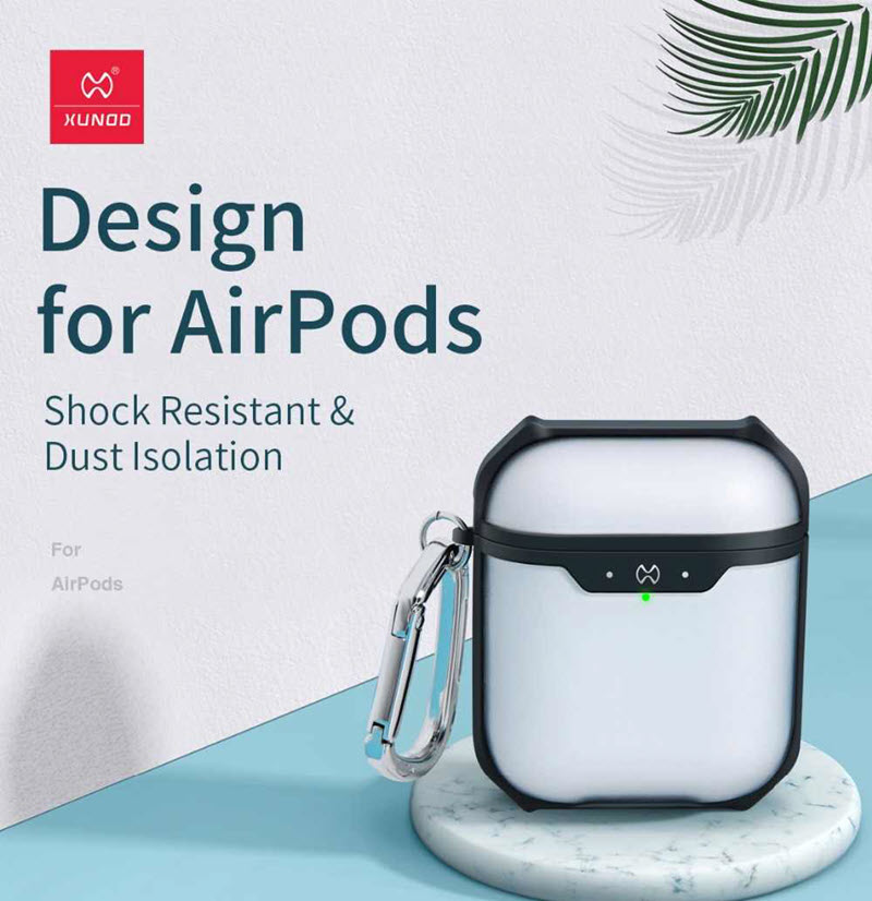 Xundd Transparent Protective Case For Airpods 1 2 (1)