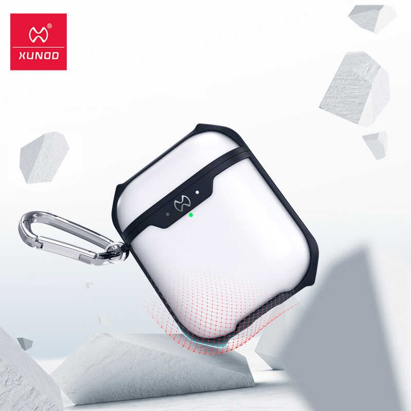 Xundd Transparent Protective Case For Airpods 1 2 (3)