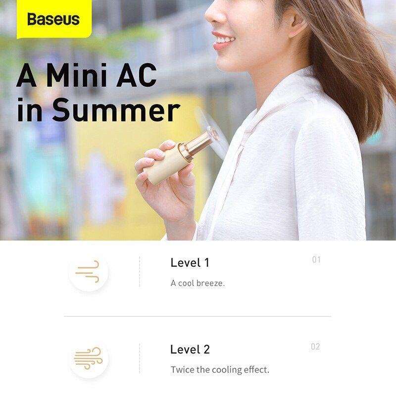 Baseus Square Tube Mini Handheld Fan (3)