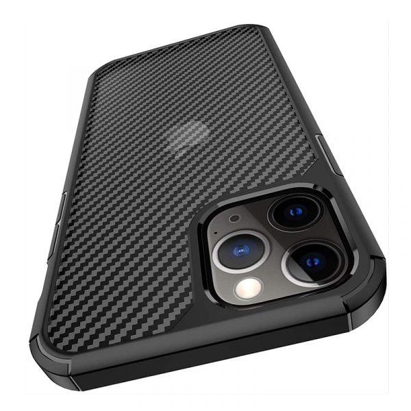 Carbon Fiber Textures Shockproof Bumper Case For Iphone 12 Mini 1212pro 12 Pro Max (4)