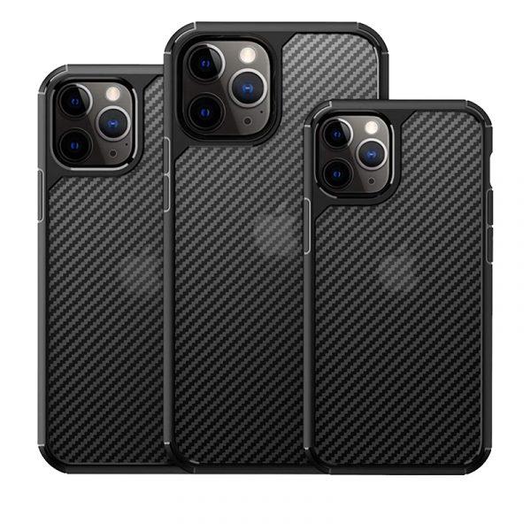 Carbon Fiber Textures Shockproof Bumper Case For Iphone 12 Mini 1212pro 12 Pro Max (5)