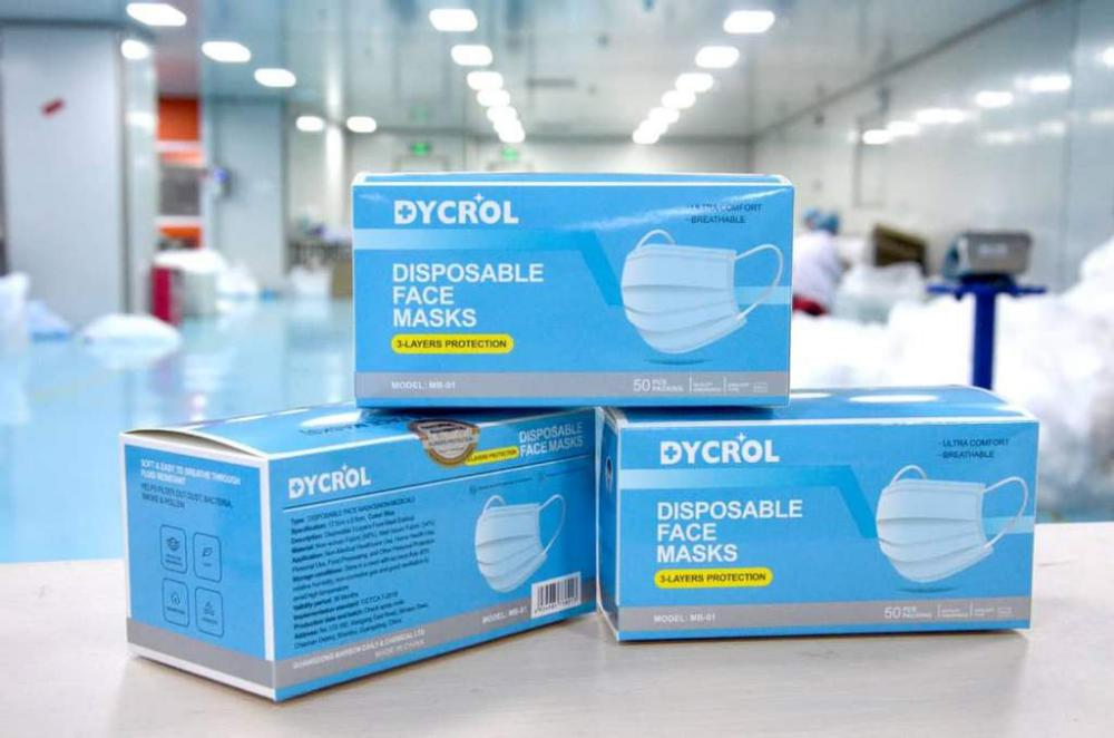 Dycrol 3 Ply Disposable Face Mask 50pcs (3)