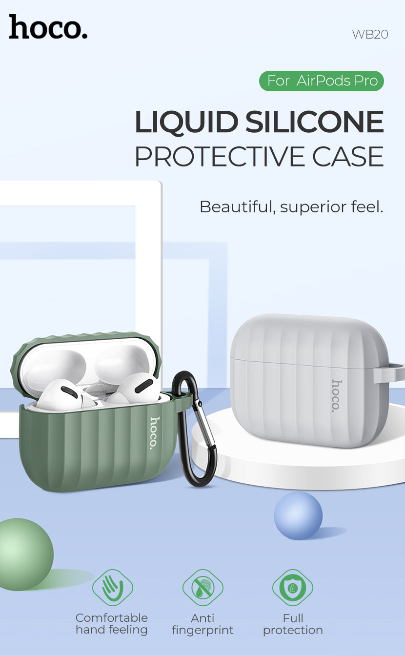 Hoco Wb20 Fenix Protective Case For Airpods Pro (3)