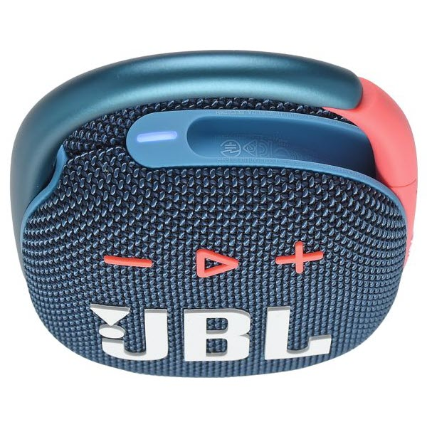Jbl Clip 4 Ultra Portable Waterproof Speaker Blue Pink (4)