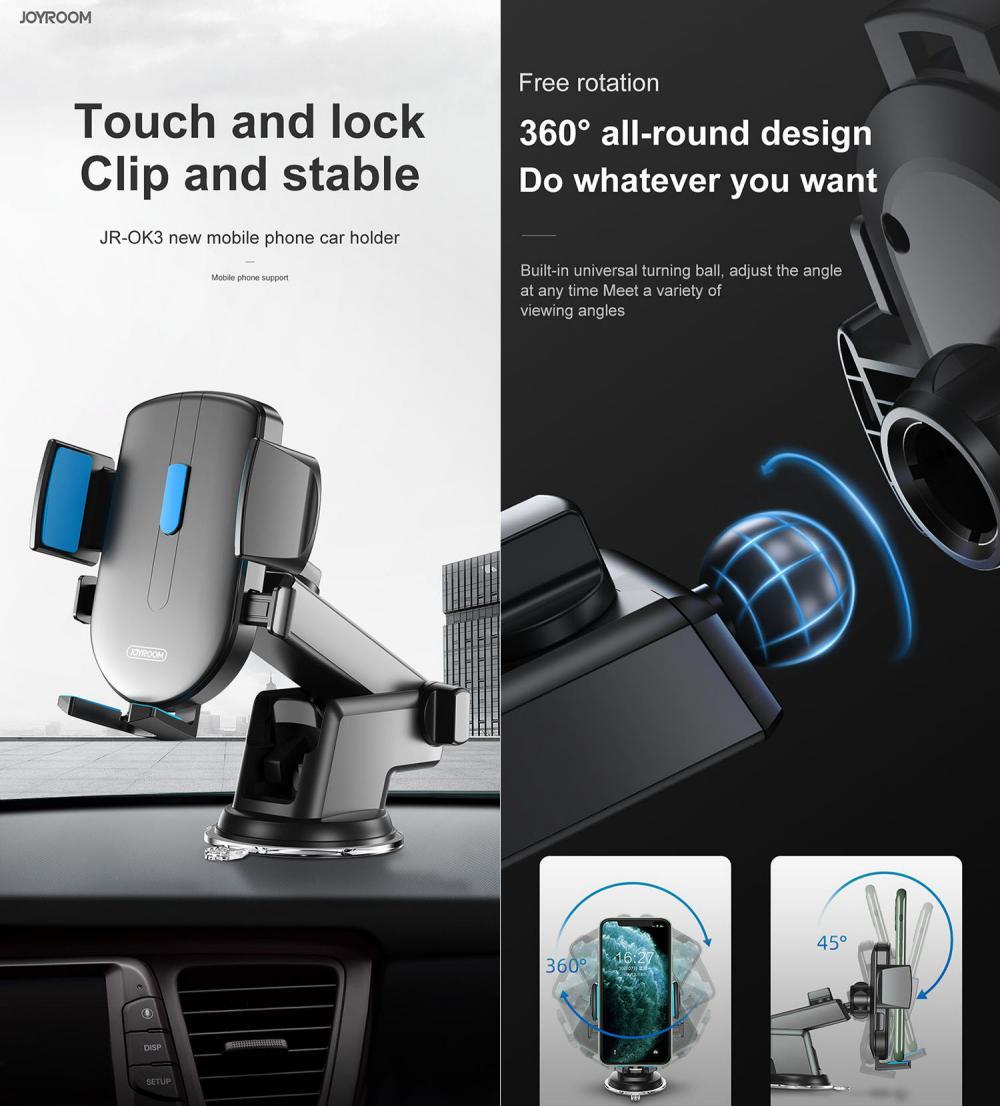 Joyroom Jr Ok3 Adjustable Length Car Phone Holder (3)