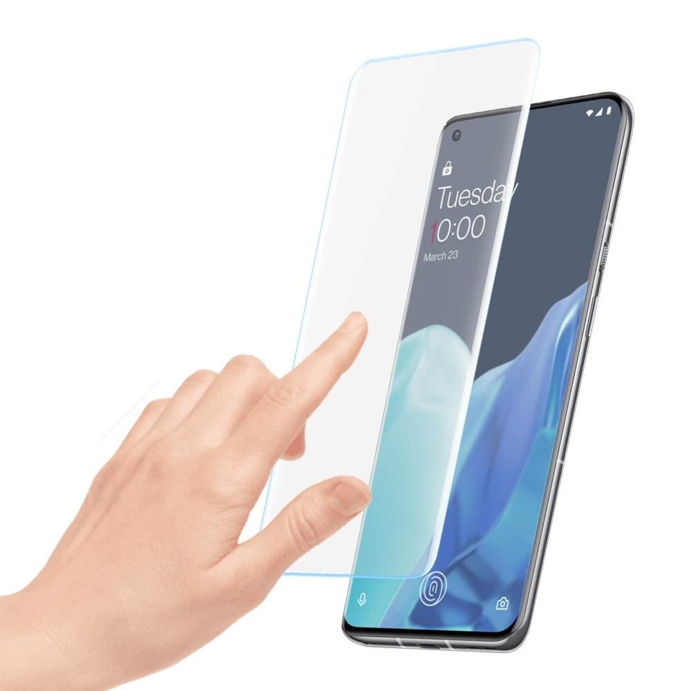 Kuzoom 3d Curved Full Screen Tempered Glass Protector Film For Oneplus 9 Pro (1)