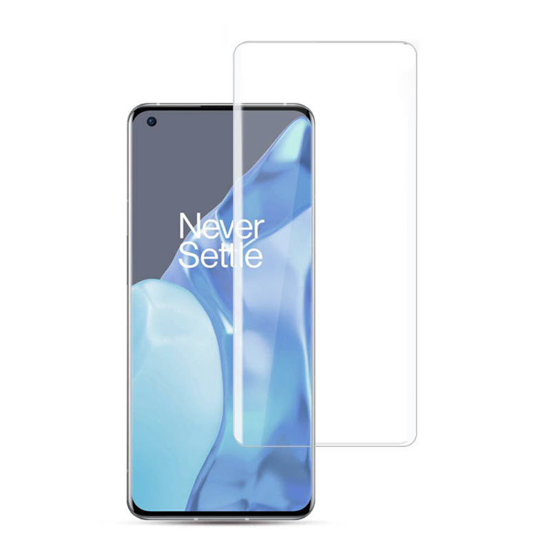 Kuzoom 3d Curved Full Screen Tempered Glass Protector Film For Oneplus 9 Pro (2)