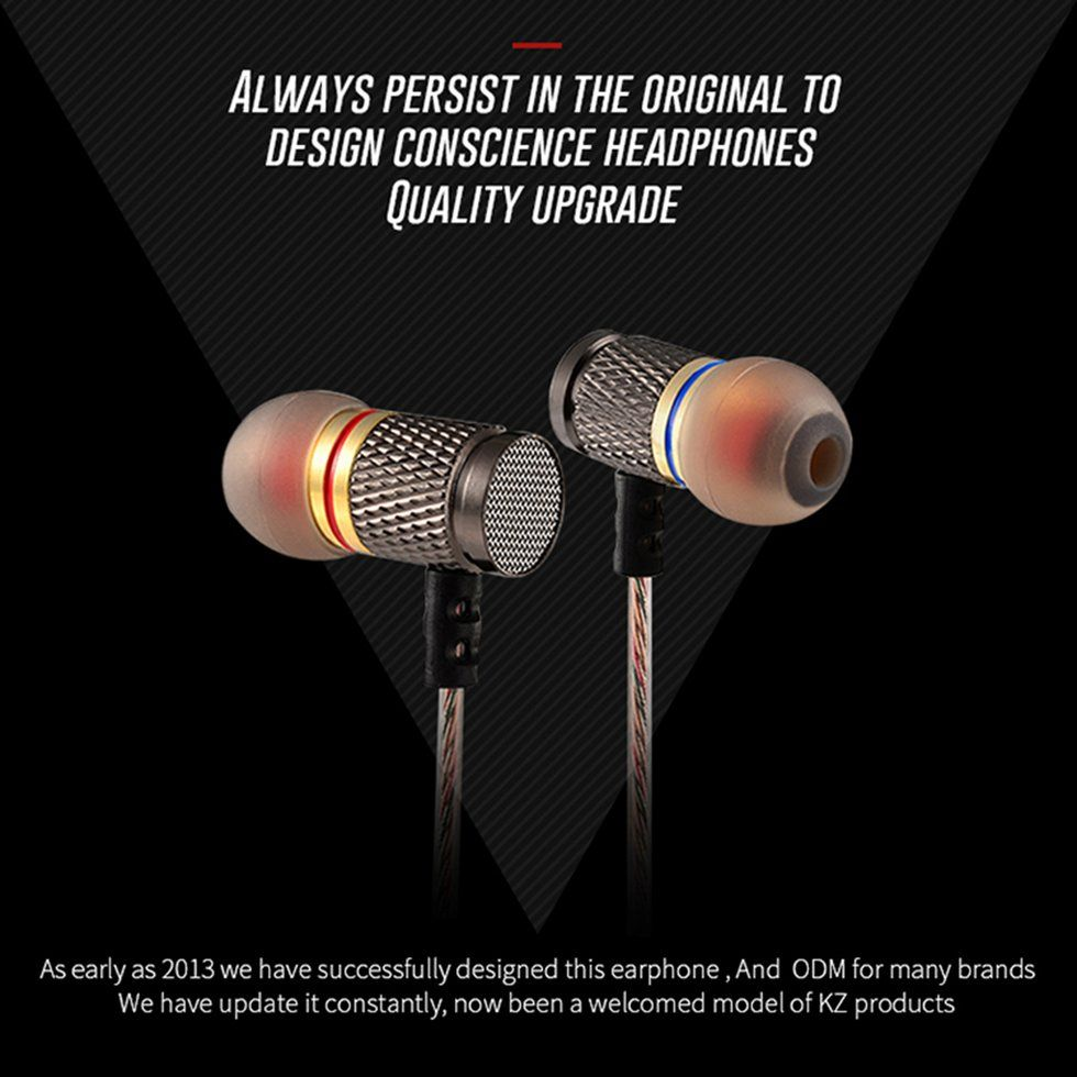 Kz Edr1 3 5mm In Ear Earphones (1)