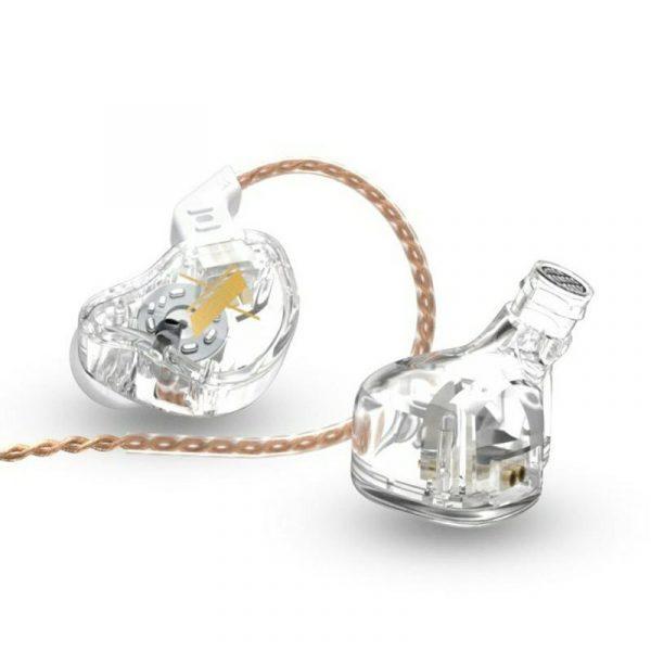 Kz Edx Transparent Crystal Clear In Ear Earphones