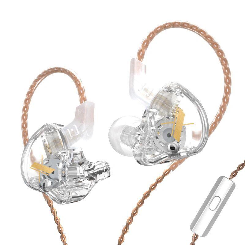 Kz Edx Transparent Crystal Clear In Ear Earphones 1