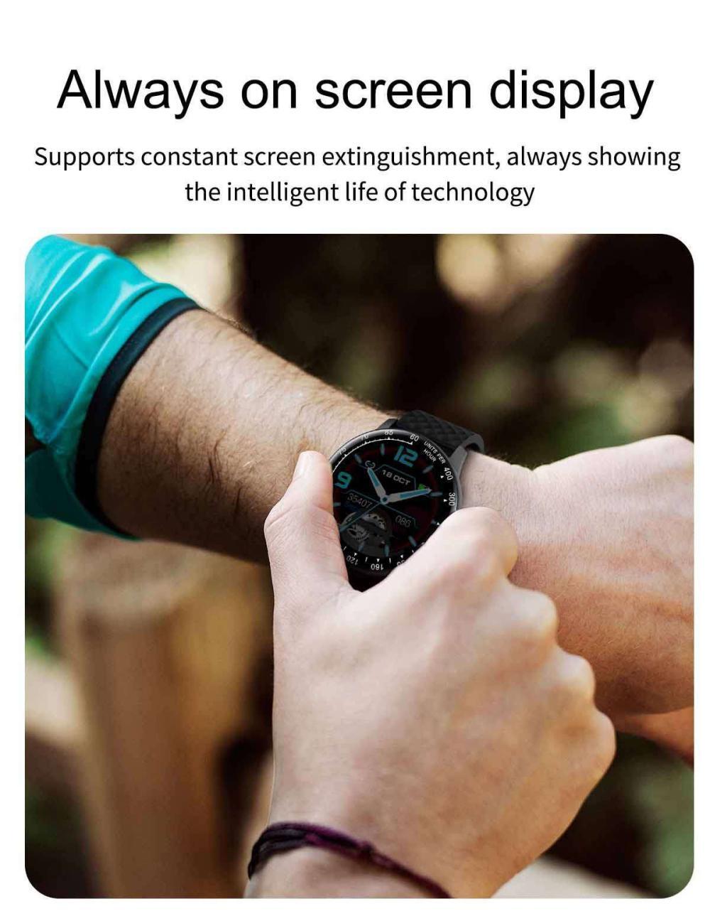 Lemfo H30 Smart Watch P68 Waterproof Smartwatch (2)