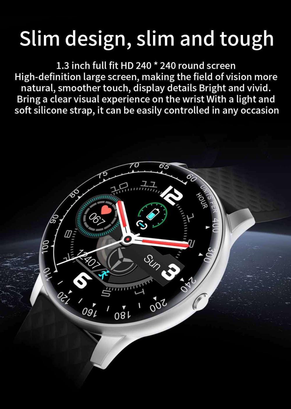 Lemfo H30 Smart Watch P68 Waterproof Smartwatch (3)