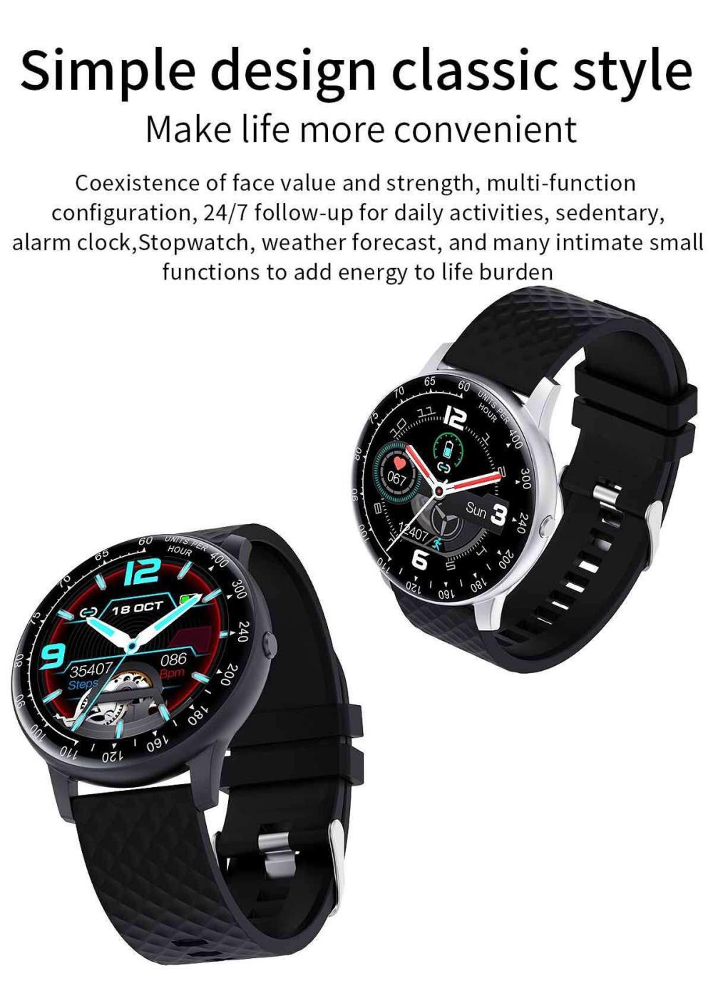 Lemfo H30 Smart Watch P68 Waterproof Smartwatch (4)
