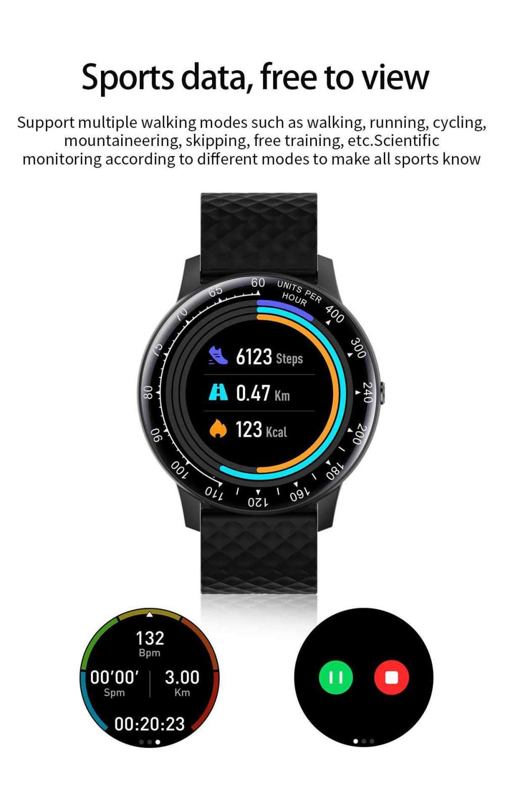 Lemfo H30 Smart Watch P68 Waterproof Smartwatch (5)