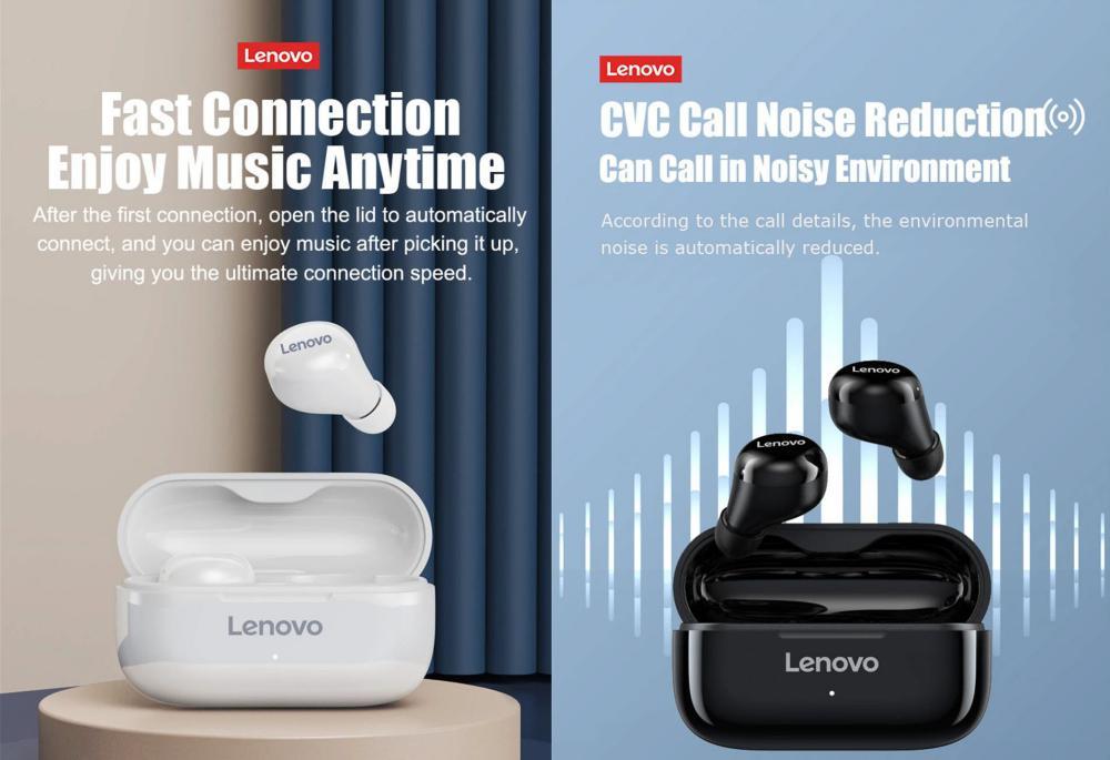 Lenovo Lp11 Twswireless Bluetooth V5 0 Earbuds (3)