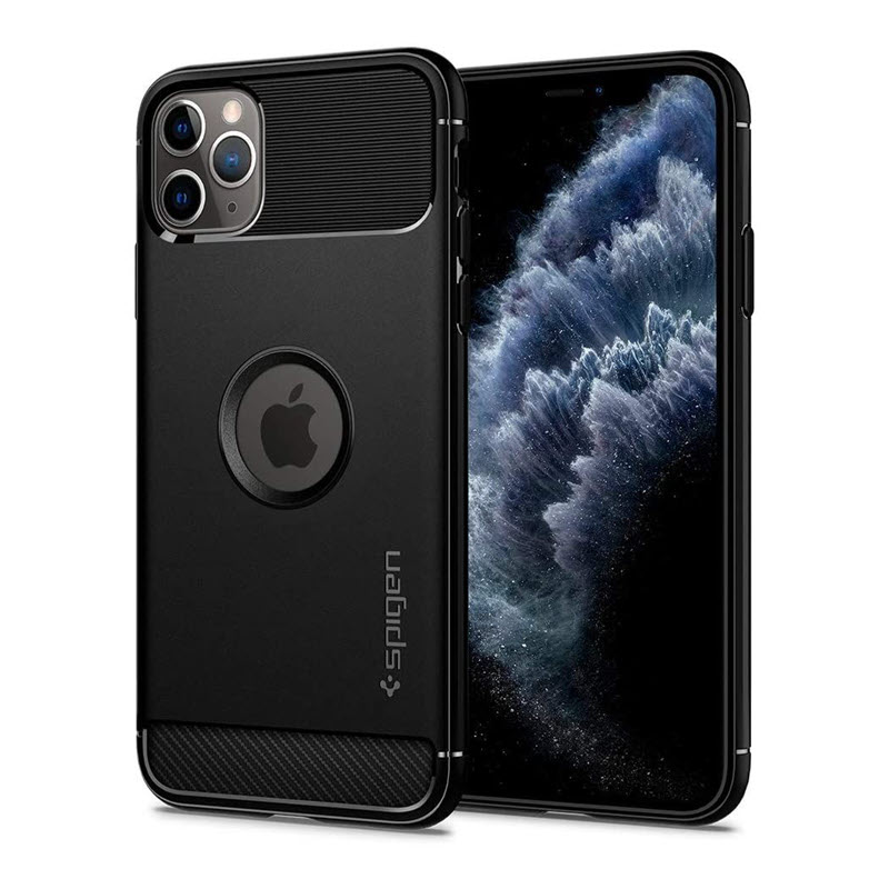 Spigen Rugged Armor Case For Iphone 11 Pro Max (1)