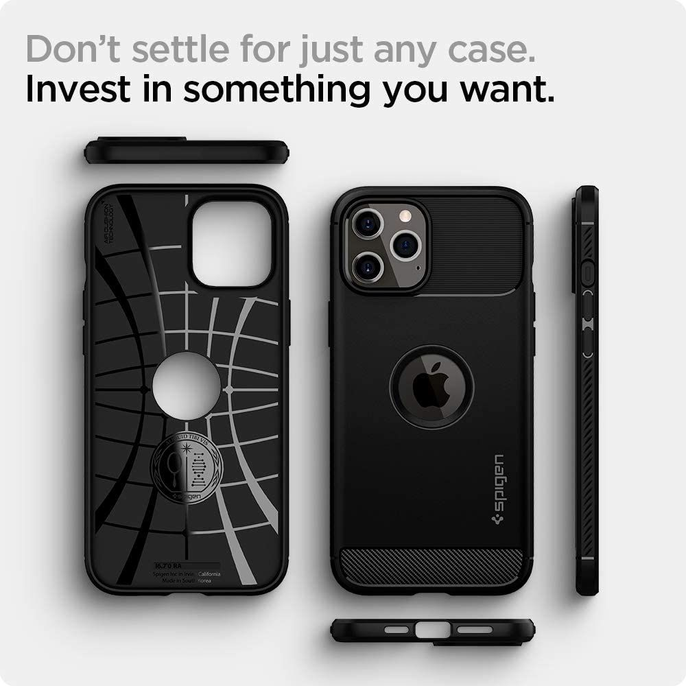 Spigen Rugged Armor Case For Iphone 12 Pro Max (2)