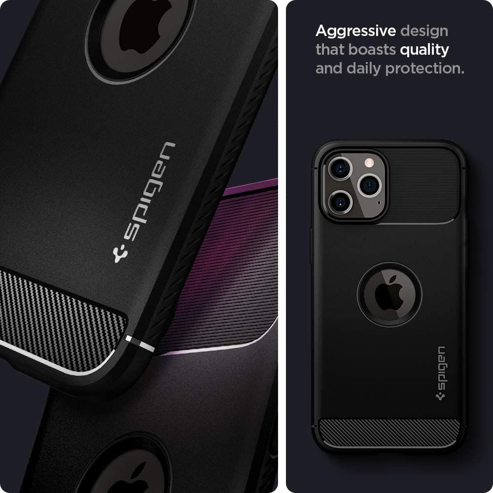 Spigen Rugged Armor Case For Iphone 12 Pro Max (3)