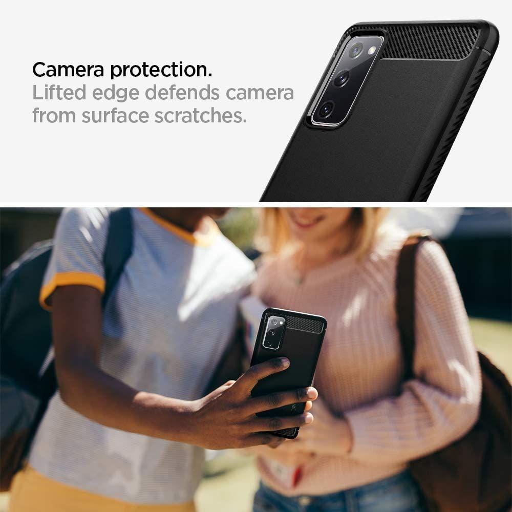 Spigen Rugged Armor Case For Samsung Galaxy S20 Fe (1)