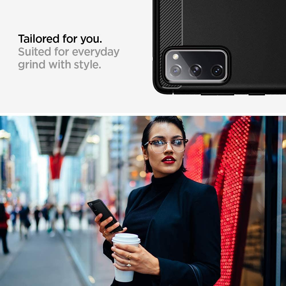 Spigen Rugged Armor Case For Samsung Galaxy S20 Fe (3)