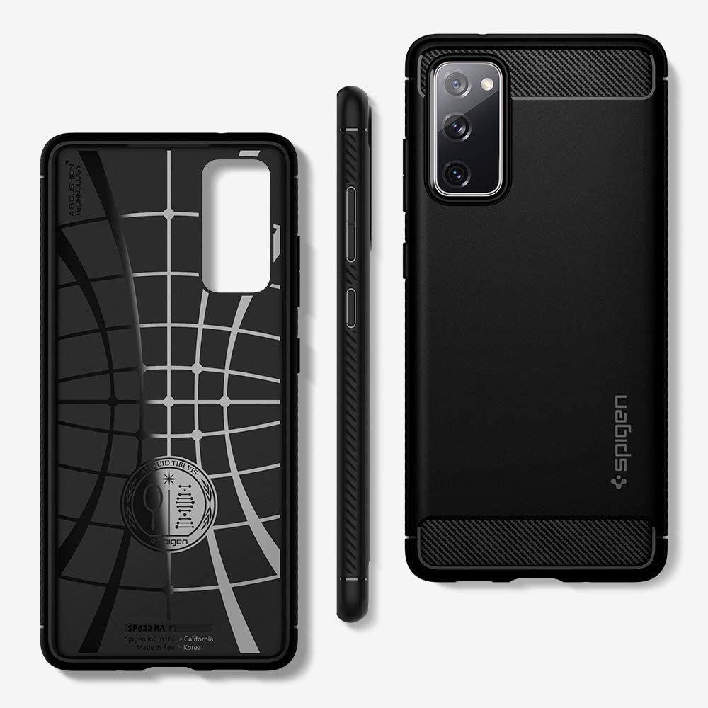 Spigen Rugged Armor Case For Samsung Galaxy S20 Fe (5)