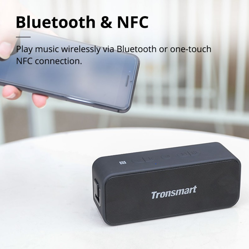 Tronsmart Element T2 Plus Portable Bluetooth Speaker (3)
