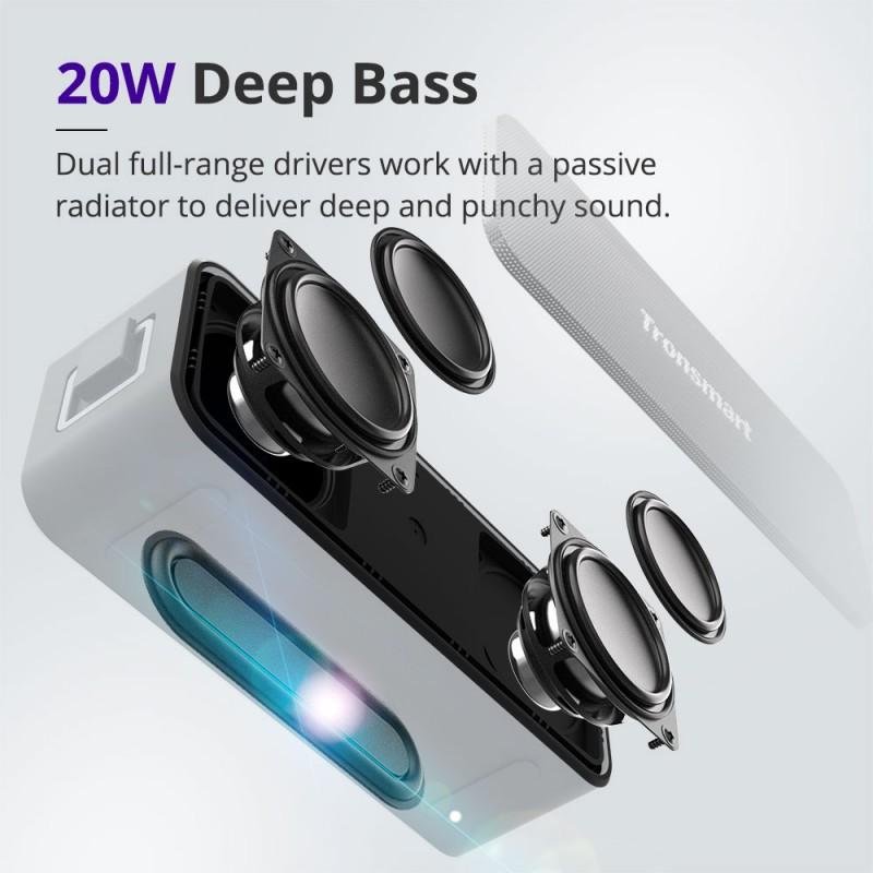 Tronsmart Element T2 Plus Portable Bluetooth Speaker (5)