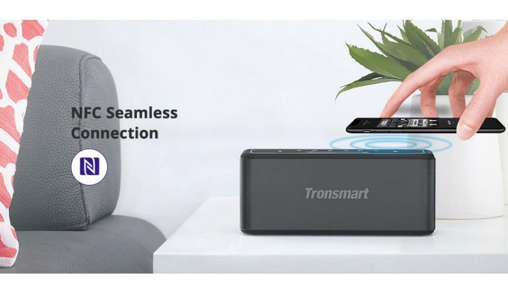 Tronsmart Mega Pro 60w Enhanced Bass Tws Nfc Ipx5 Portable Speaker (3)