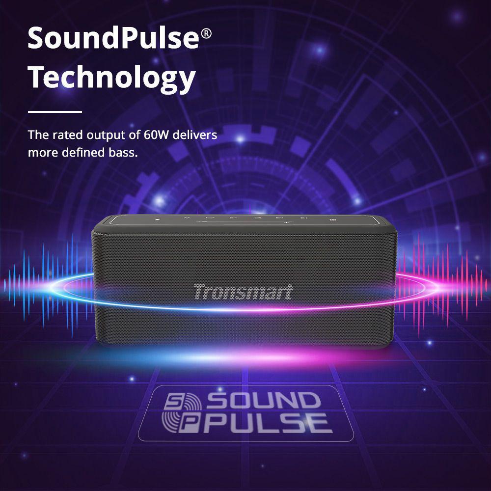 Tronsmart Mega Pro 60w Enhanced Bass Tws Nfc Ipx5 Portable Speaker (4)
