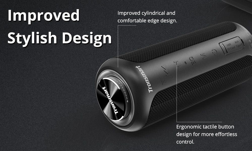 Tronsmart T6 Plus Upgraded Edition Soundpulse Bluetooth Speaker (2)