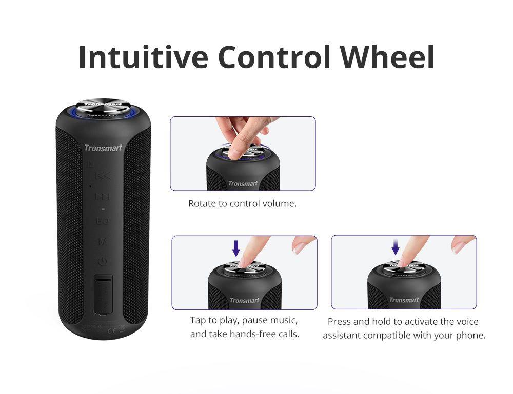 Tronsmart T6 Plus Upgraded Edition Soundpulse Bluetooth Speaker (4)