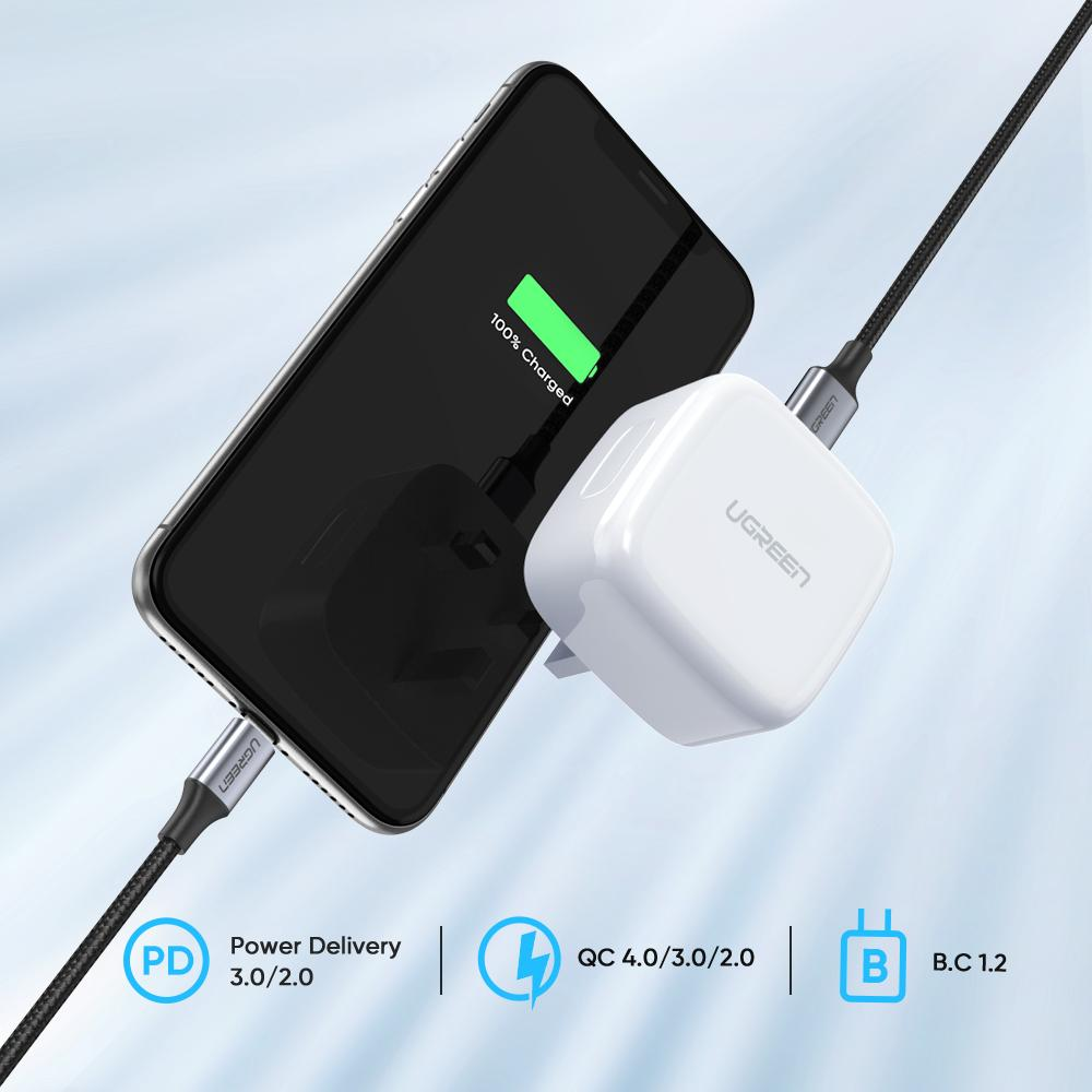 Ugreen 18w Pd Usb C Charger (2)