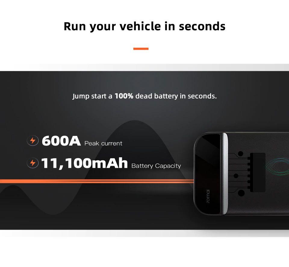 Xiaomi 70mai Ps01 Jump Starter With Power Bank (4)